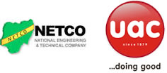 NETCO and UAC Logos